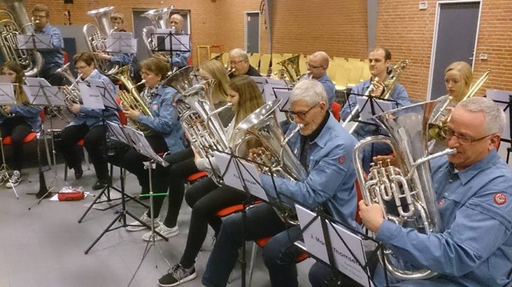 2017 øvedag - low brass-sektion