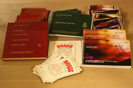 4 sæt noder fra Salvation Army's nodearkiv