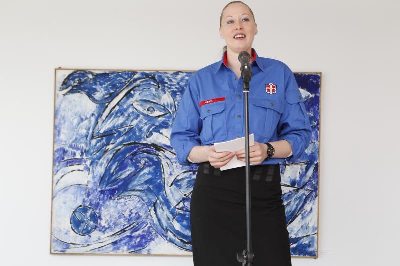 Kirsten Lilleøres takketale